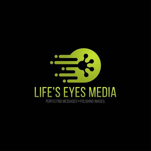 life's eyes media logo