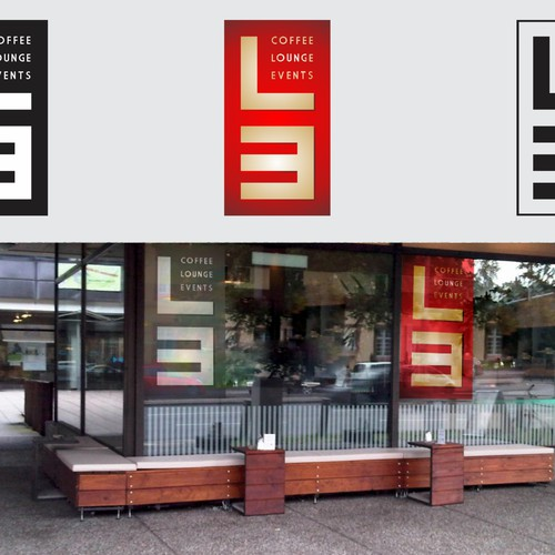 """professional LOGO for Coffee-Bar in Mannheim - Name: """"L3"""""""