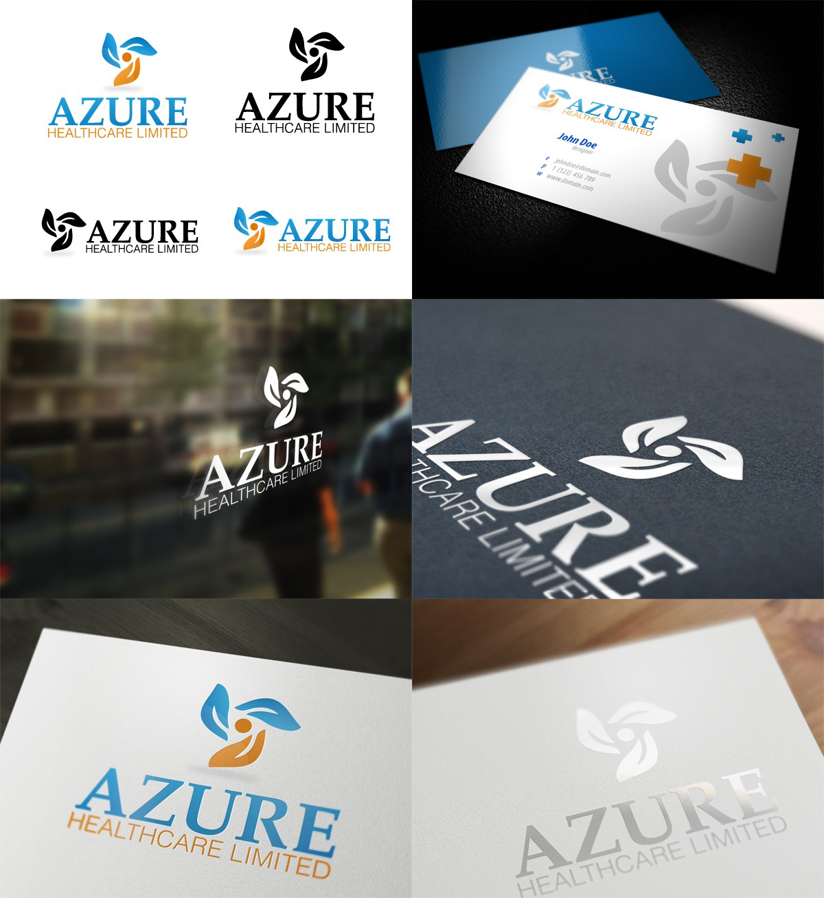 Help Azure Healthcare Limited with a new logo