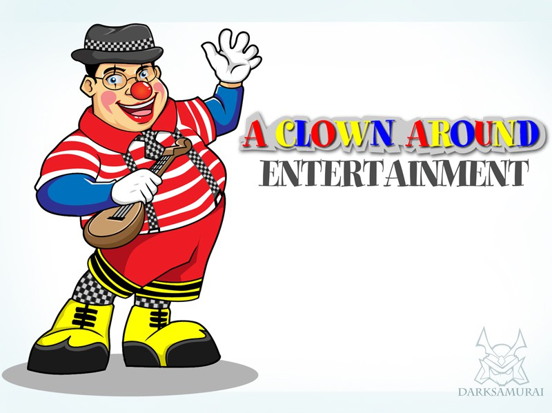 Help A Clown Around Entertainment with a new logo