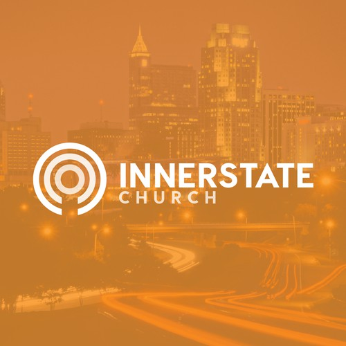Simple logo for Innerstate Church