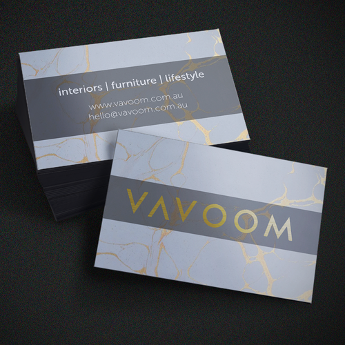 Vavoom business card concept
