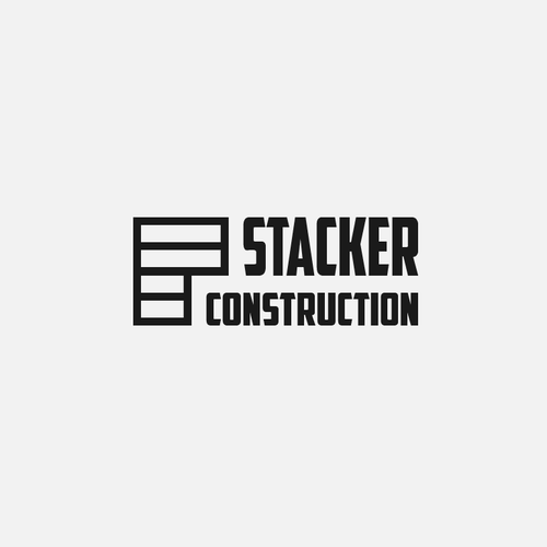 Bold, strong logo for construction film