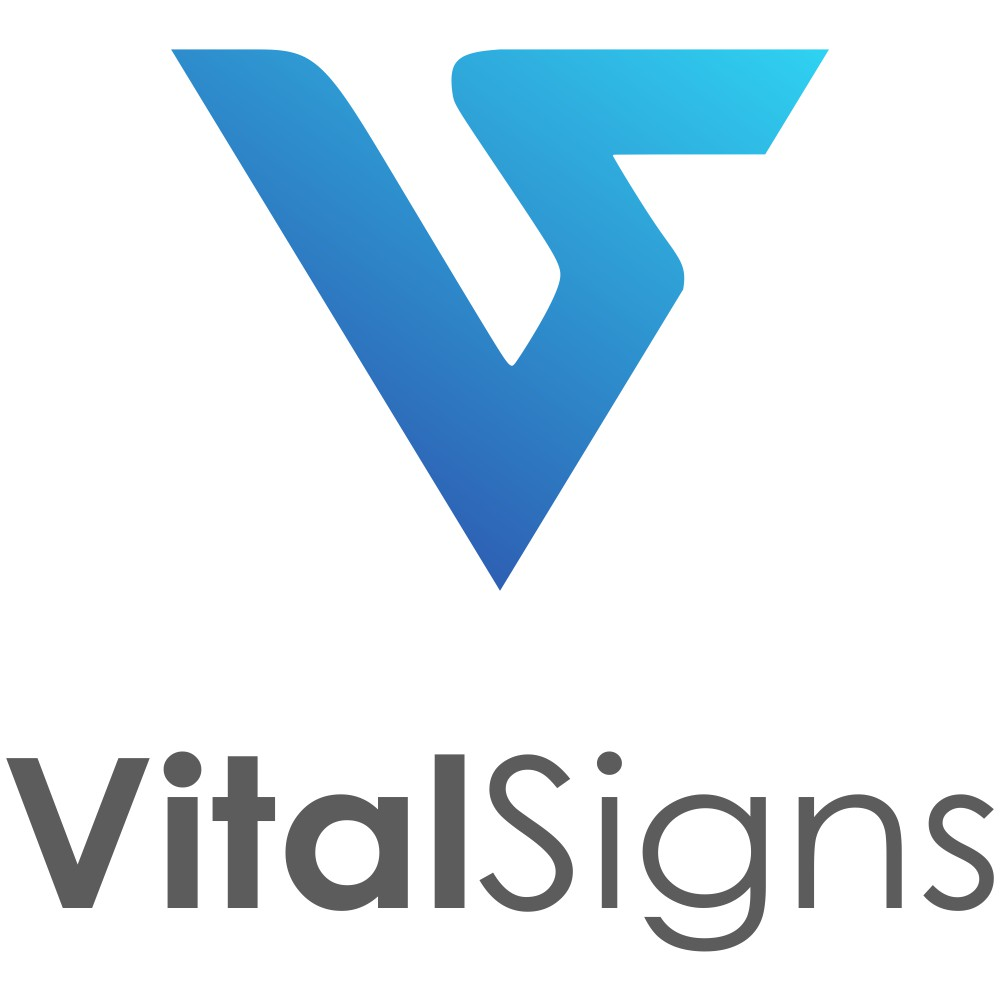 VitalSigns software is looking for a modern and fresh new logo