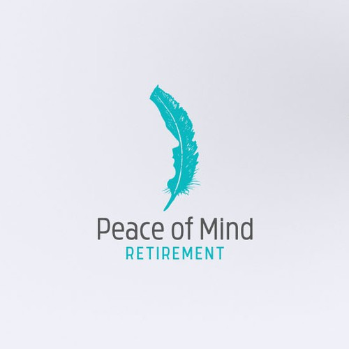 Logo for Peace of Mind Retirement.