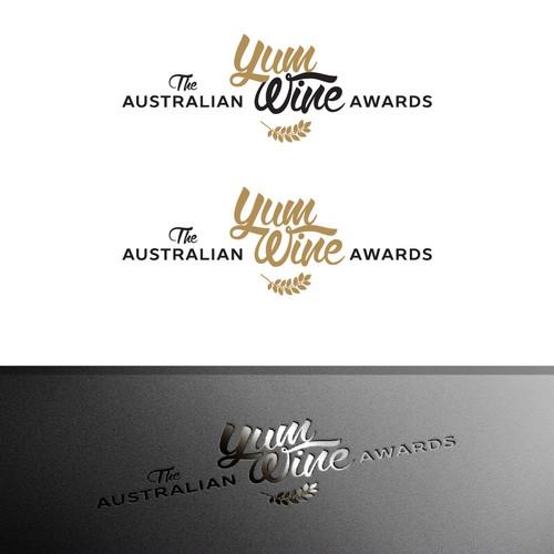 Elegant logo design for Wine Awards