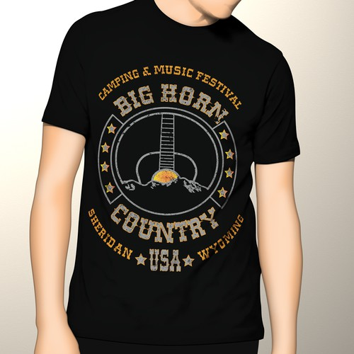Big Horn Country Music Festival T-shirt