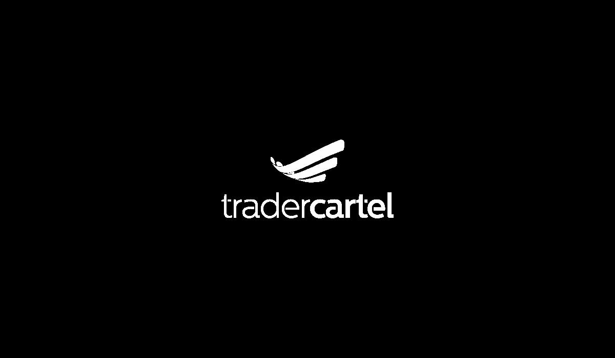 Bold logo design for T R A D E R C A R T E L