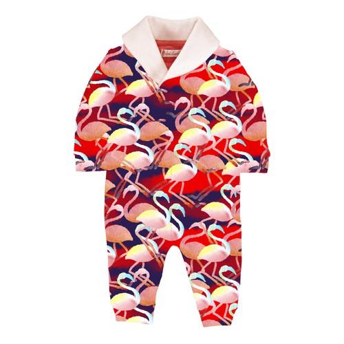 Pattern for children's overalls.