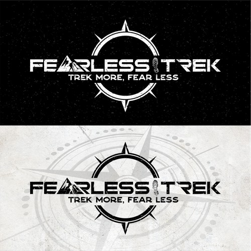 Rustic Logo Fearless Trek