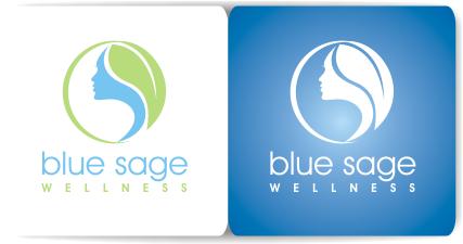 Blue Sage Wellness needs a modern, logo that evokes peace and healing
