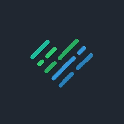 Vibrant logo mark for Luma