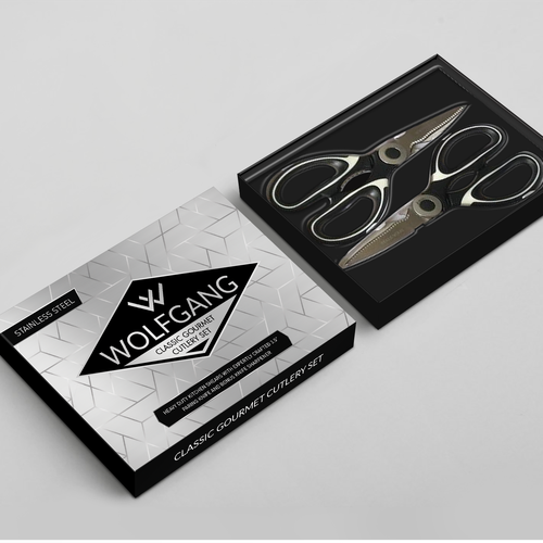 Wolfgang, packaging design