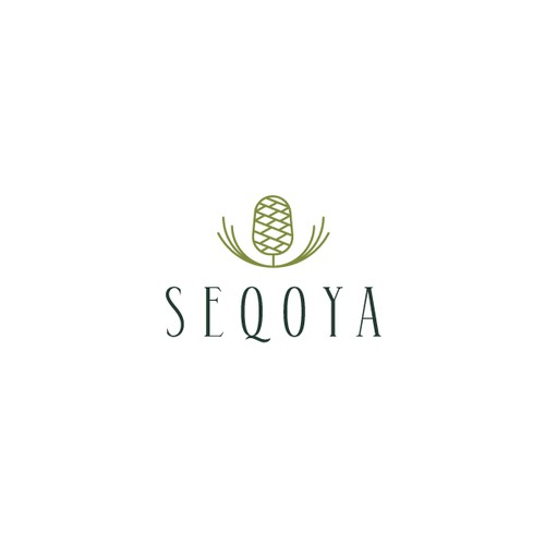 Minimal logo for home product