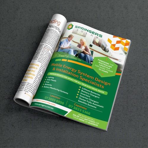Springers Solar Mag. Ads.