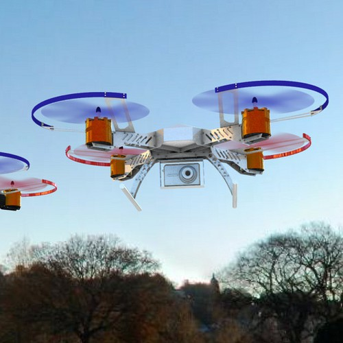 Industrial Drone / Quadcopter