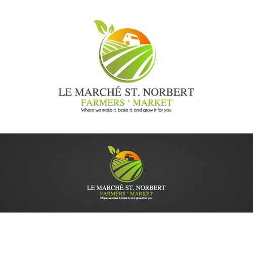 Help Le Marché St. Norbert Farmers Market with a new logo