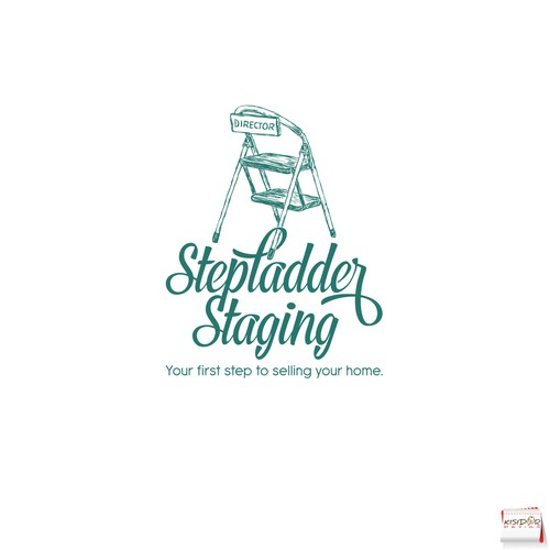 Logo for home staging and redesign business