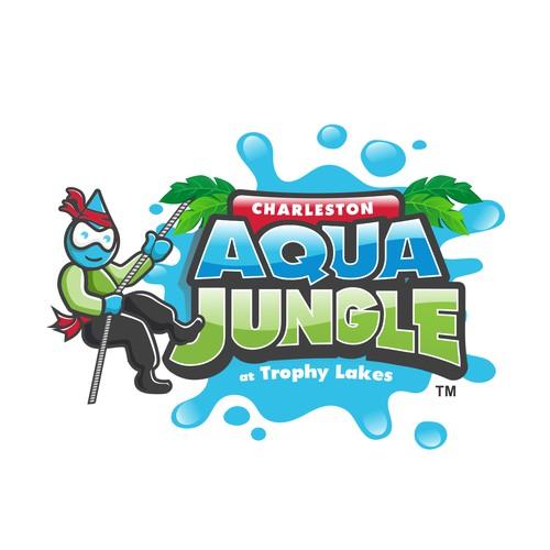 Logo For AQUA JUNGLE