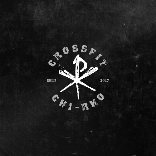 Bold Grungy Logo For Cool Crossfit