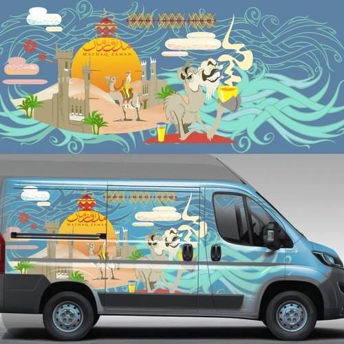 Saudi Food Truck