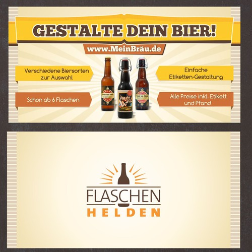 Erstellen: Nächste postcard or flyer für Flaschenhelden GmbH