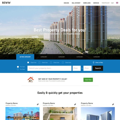 Reww Real estate  design