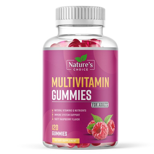 Multivitamin Gummies for Adults Supplement