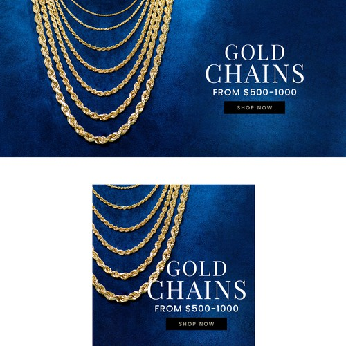 Homepage Slider for Mobile & Desktop Jewelry Website