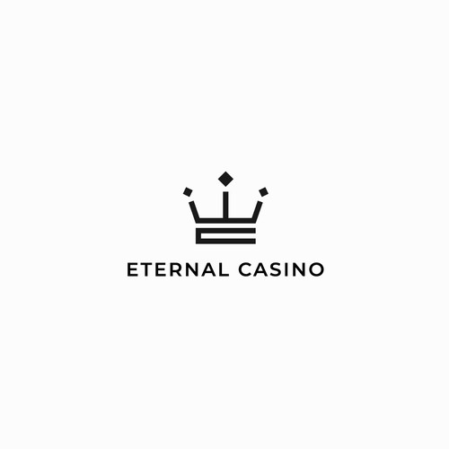 EC Luxury / Premium Logo for Online Blockchain Gambling Casino