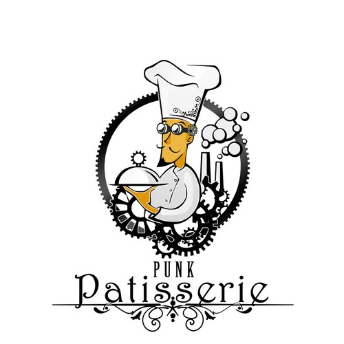Punk Patisserie needs a new logo