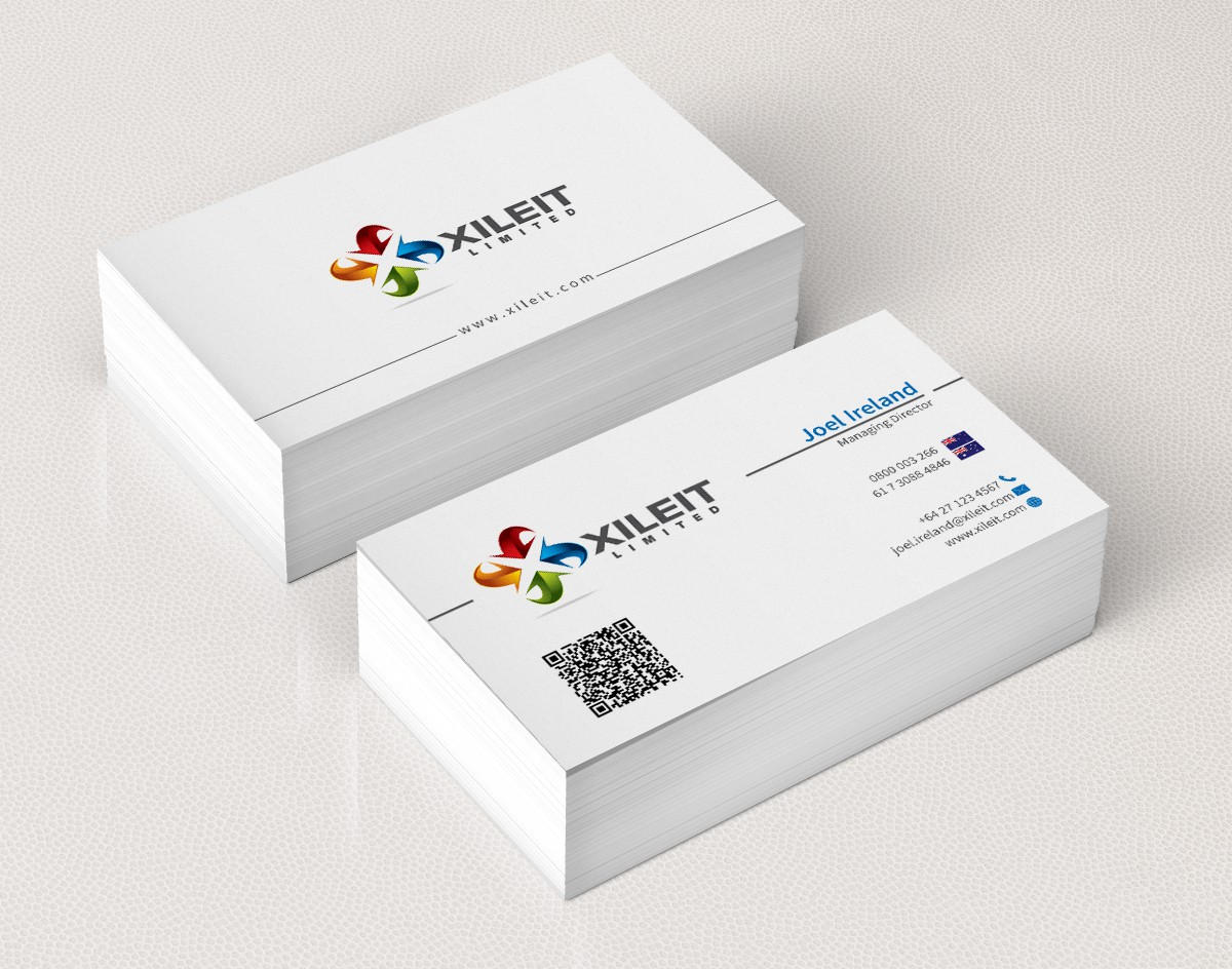 Looking for a professional approach to our business cards!