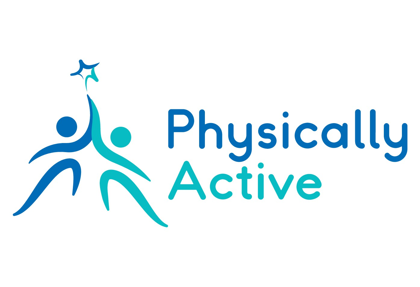 "A health business needs a new (easier in the eyes) logo to promote being ""Physically Active"""
