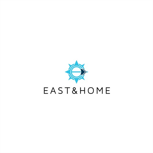 Simple logo for East&Home