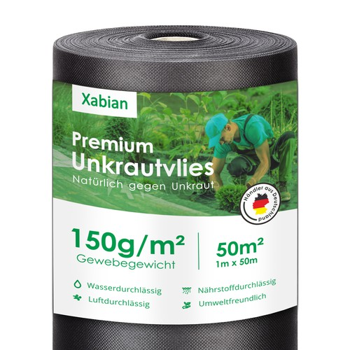 Anti grass mat label