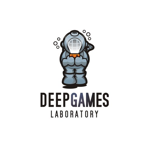Create a logo for a games company