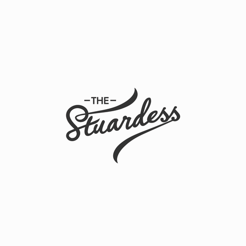 Logo for the stuardess.