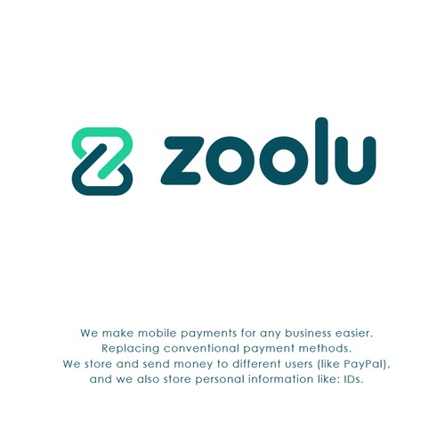 Minimal modern logo concept for Zoolu