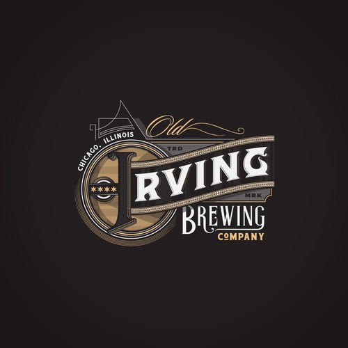Old Irving Brewing Company - Logo (work in progress)
