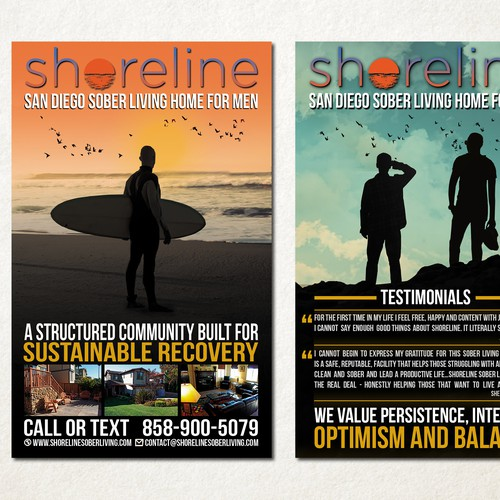Collateral designed for Shoreline