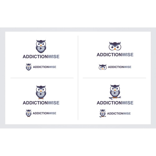 logo concept AddictionWise