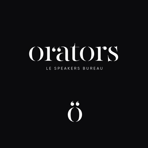 Logo for speakers bureau