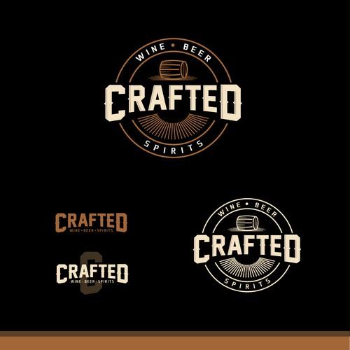 Logo para loja de vinhos e cervejas artesanais