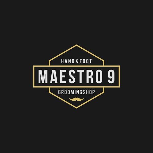 Masculine Logo For Men Nail Shop