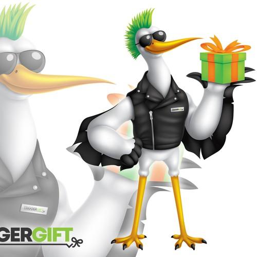 TRIGGERGIFT mascot design