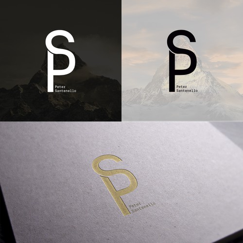 Personal logo with initial letters