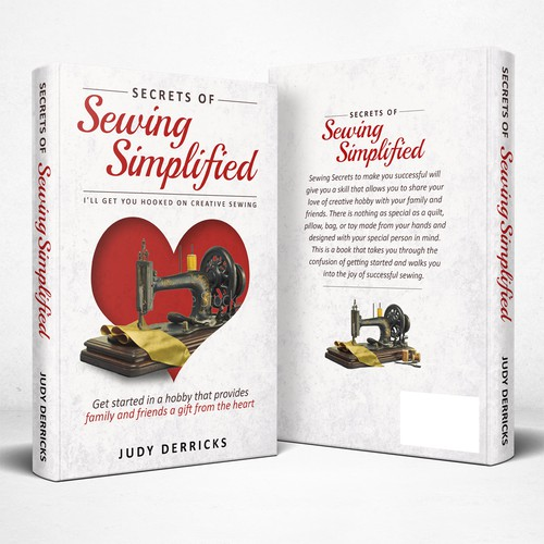 Book cover for secret of succesful sewing