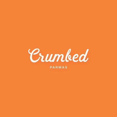 Crumbed logo design