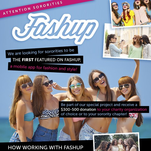 Fashup Flyer