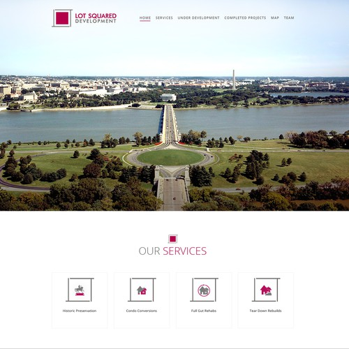 AWESOME design for our Real Estate Development Website